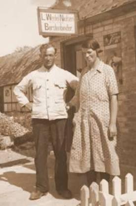 Edvard Wedel Og Ane Kathrine Marie Sandeline Jensen Skov
