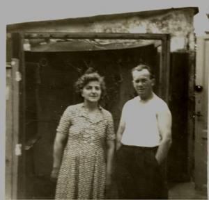 Karen og Herluf (lindhardt son af 1 aegteskab)